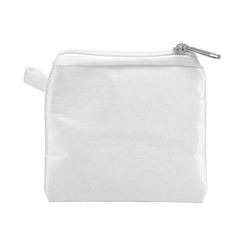 Porta Moedas Branca 11x09 C/Ziper P/Sublimação - 01 Unidade