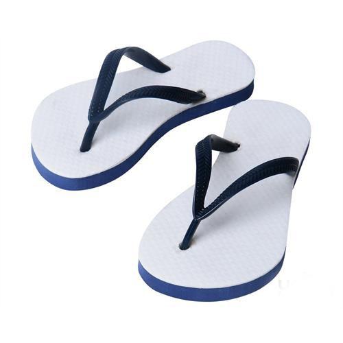 Chinelo Borracha Sublimático com Trad Azul Marinho Infantil 25/26 Embalado a Vácuo não Suja ou Amarela (JD6000) - 01 Unidade