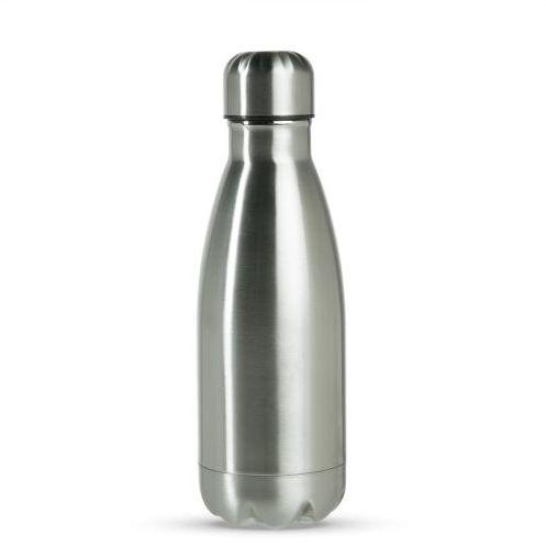 Garrafa Térmica Esportiva Sublimável em Inox Prata 350ml Fundo Estrela (ShopVirtua3000®) (1961) - 01 Unidade