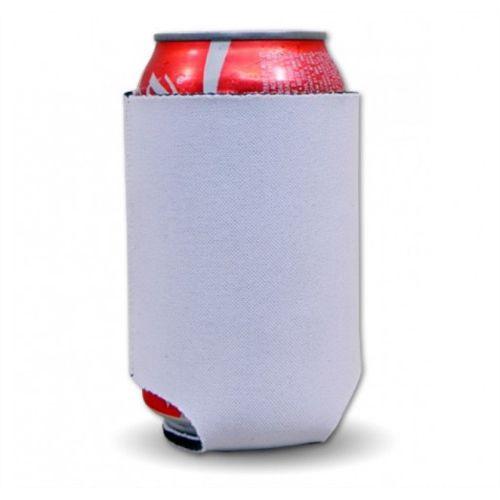 Porta Latas Camisetinha Sem Manga para Sublimação Extra Branco Em Neoprene Térmico 3 Mm - 01 Unidade (AL11007)