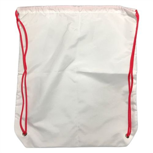 Sacochila Sublimática Microfibra Tamanho 30x35cm Vermelho (377) - 01 Unidade