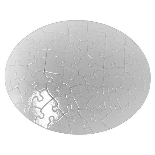 Quebra Cabeças Perola 51 peças Oval 19x24 cm (P22 - C017) - 01 Unidade