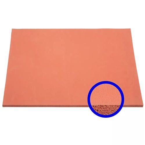 Manta de Silicone Esponjosa para Prensa Plana 38x38cm 8mm (MG151) - 01 Unidade
