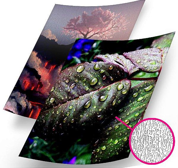 Papel Fotográfico Texturizado Casca de Árvore Glossy A4 230g - 100 Folhas