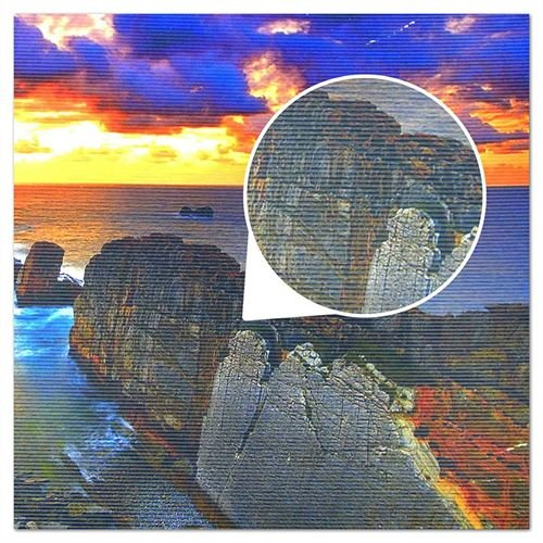 Papel Fotográfico Texturizado Listrado Glossy A4 230g - 100 Folhas