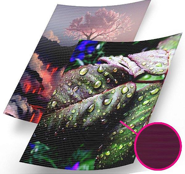 Papel Fotográfico Texturizado Listrado Glossy A4 230g - 20 Folhas