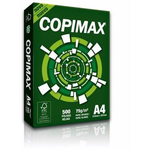 Copimax Papel Sulfite A4 75g/m2 (500 Folhas) - 01 Unidade
