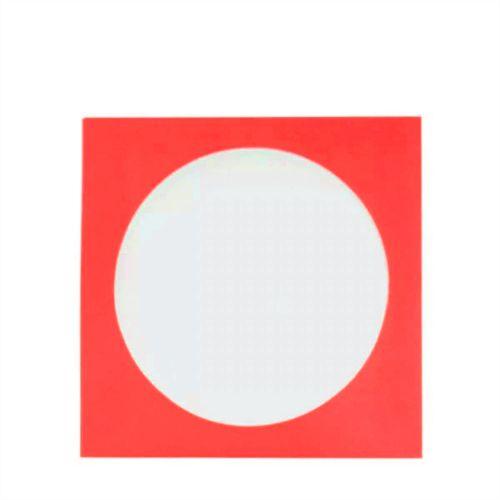 Envelope papel janela Acetato Vermelho - 1000 Unidades