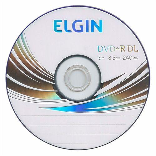 DVD+R Dual Layer Elgin (ID: Umedisc) 8X 8.5GB Dual Layer C/Logo - 01 Unidade