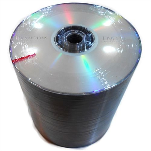 DVD-R Memorex 16X 4.7GB C/Logo - 100 Unidades (Shrink Lacrado)