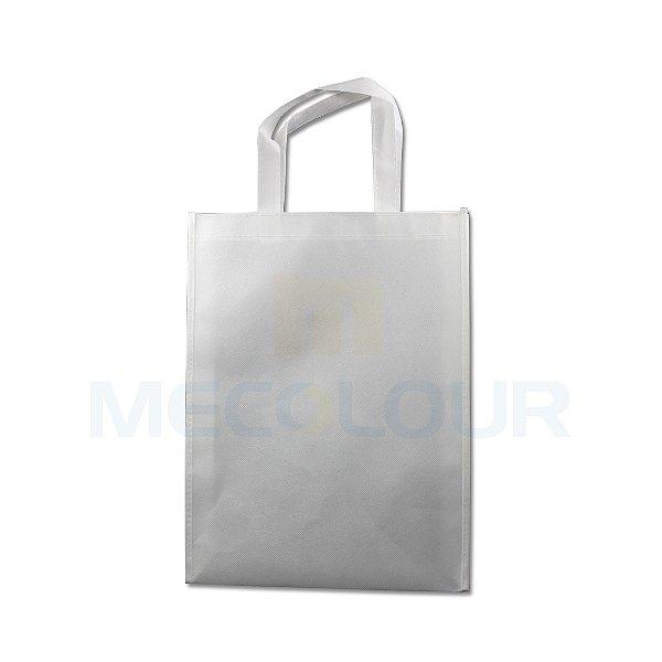 Sacola Sublimática ECOLÓGICA ECOBAG 100% Em Tecido Pequena Tamanho 30x40 Cm Branca ShopVirtua3000 (C013) - 01 Unidade