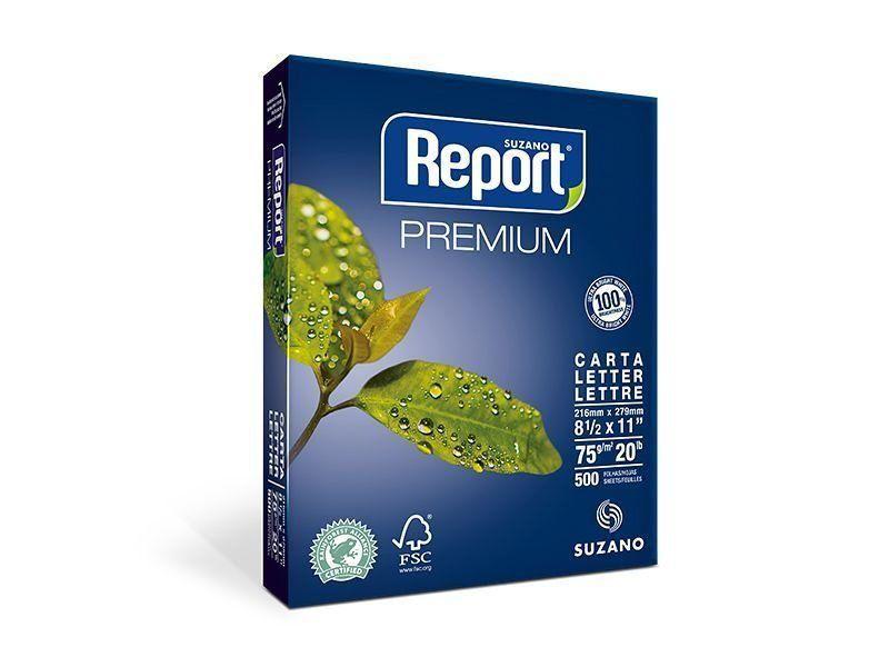 Report Papel Carta Premium - 75g/m2 (500 Folhas) - 01 Unidade