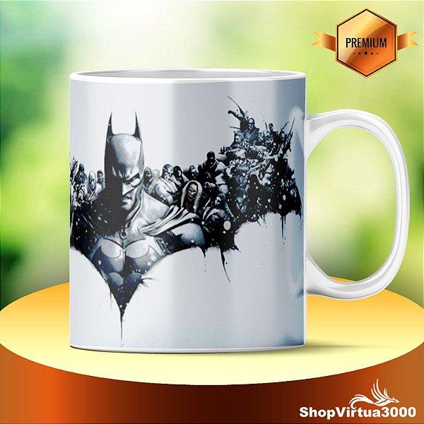 Caneca Cerâmica Classe +AAA Personalizada Batman Arkham Origins - 01 Unidade