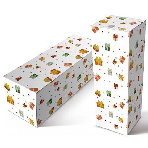 """Caixinha para Squeeze de Material Papelão Resistente Modelo """" Presente''  para Squeeze de 500 Ml (2013) -  01 Unidade"""