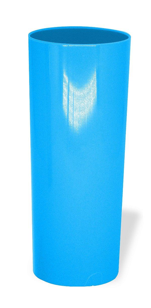Copo Long Drink Acrílico Azul Tiffany 350 Ml Ultra Resistência Bezavel (1903)  - 01 Unidade