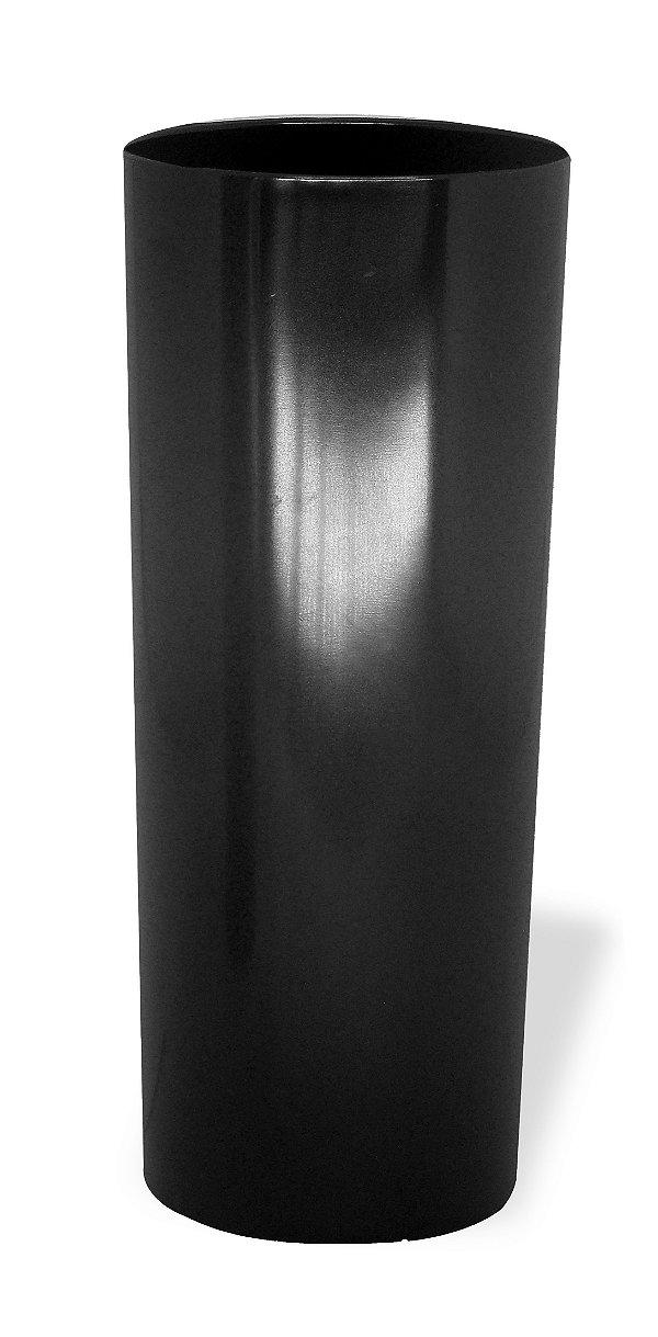 Copo Long Drink Acrílico Preto 350Ml Bezavel Para Transfer ou Silk (1871) - 01 Unidade