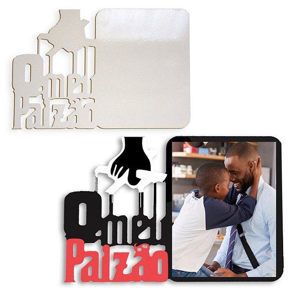 Porta Retrato Paizão Mdf 6mm Branco Retangular 24X16,5cm Resinado para Sublimação Ultra Brilho com Caixinha Protetora (PH1426) - 01 Unidade