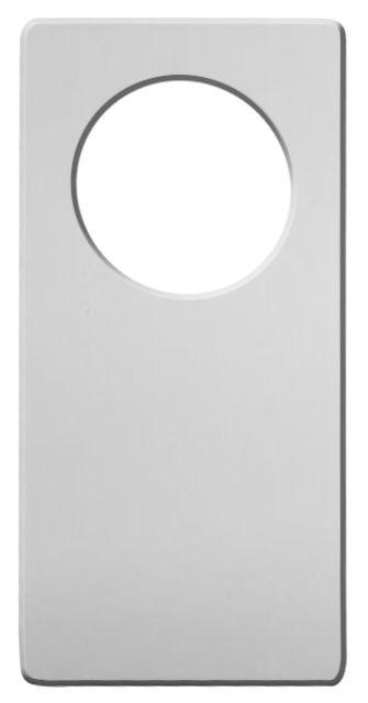 Tag Aviso de Porta 9,5x19cm em PET Branco para Sublimação (2428) - 01 Unidade