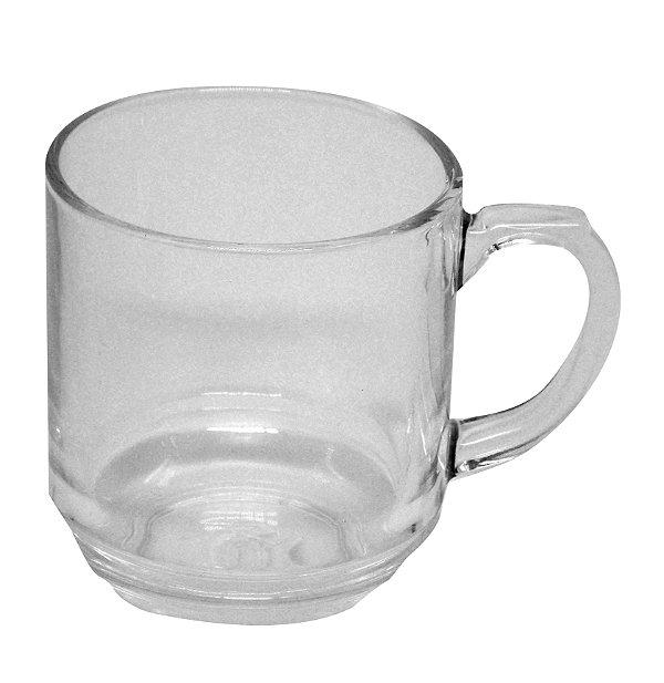 Caneca para Chá de Vidro - 325 Ml Cristal 9cm (2165) - 01 Unidade