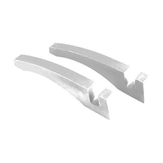 Suporte Branco para Azulejo Sublimático Material Plástico (o Par)