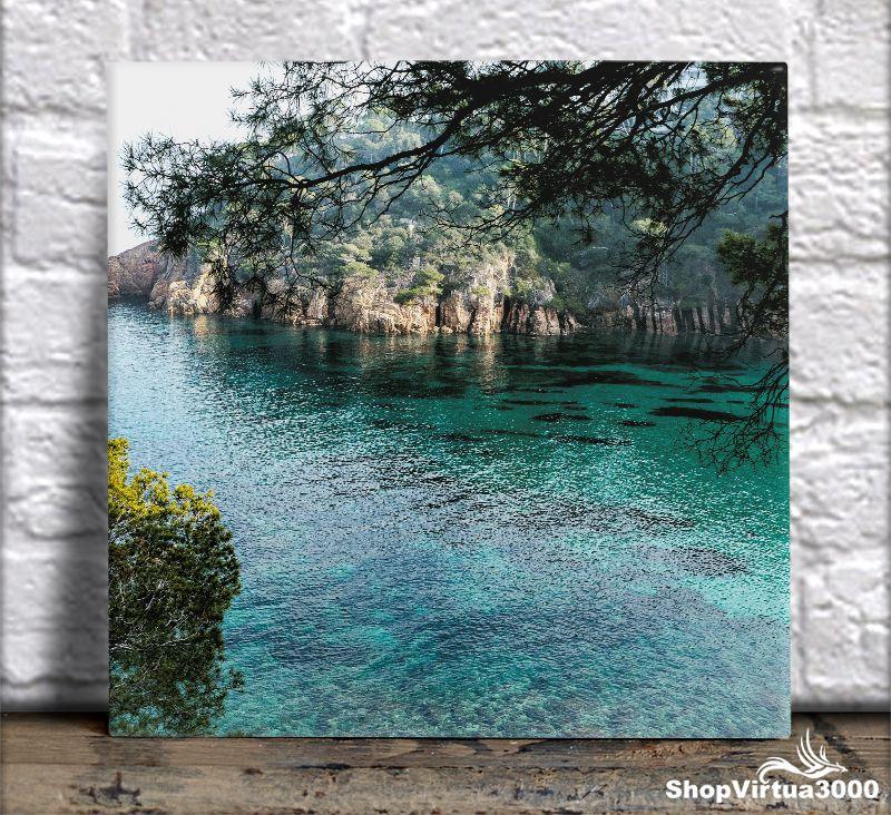 Azulejo Ultra Brilho 15x15cm / 20x20cm Personalizado Natureza na Espanha (AL2002 - AL2004) - 01 Unidade