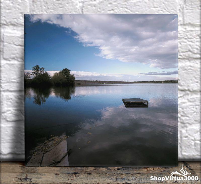 Azulejo Ultra Brilho 15x15cm / 20x20cm Personalizado Fenômeno de Reflexão Natural (AL2002 - AL2004) - 01 Unidade