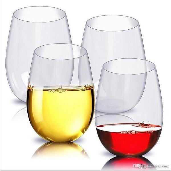 Copo Vidro Cristal P/ Vinho Cor Cristal Total 540ml (Linha Elegance Sublimação) (2691) - 01 Unidade
