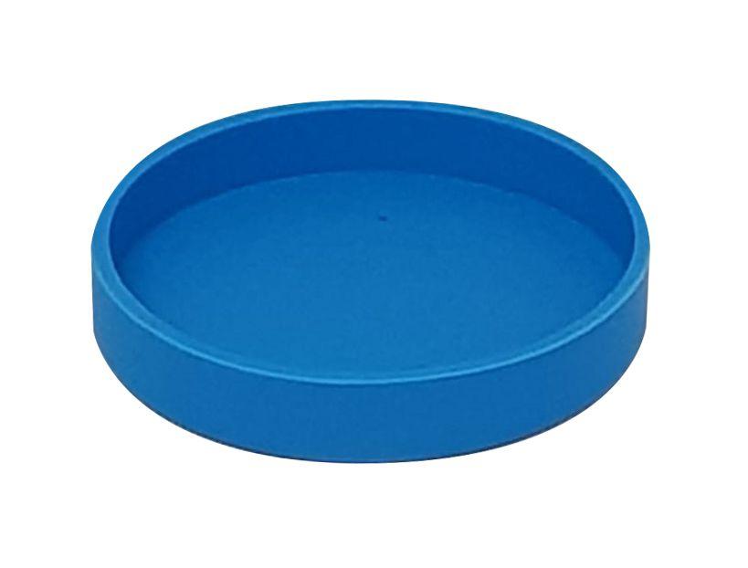 Base Silicone P/ Canecas - 7 Cm D - Azul Claro (2261) - 01 Unidade