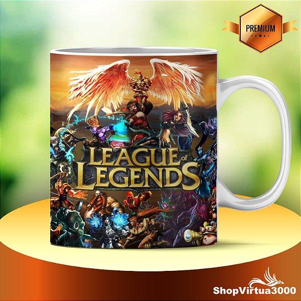 Caneca Cerâmica Classe +AAA Personalizada League of Legends LOL - 01 Unidade