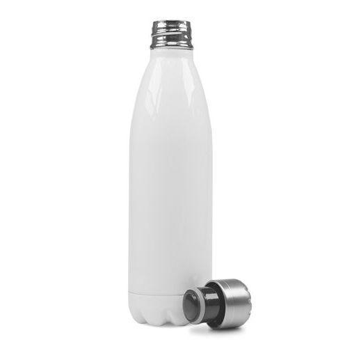 Garrafa Térmica Esportiva Sublimável em Inox Branca 750ml Fundo Estrela (ShopVirtua3000®) (3016) - 01 Unidade (PROMO TOP)