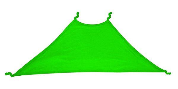 Top Frente Única para Sublimação Tamanho Único Em Poliéster Verde Neon - 01 Unidade