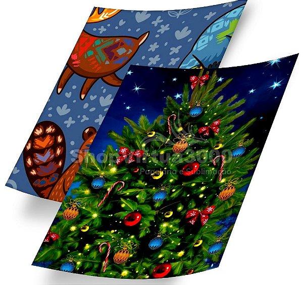 Papel Fotográfico Glossy (resistente à água apenas p/ tintas corantes) 230g/m² - A6 10x15 (SV3000) - 20 folhas