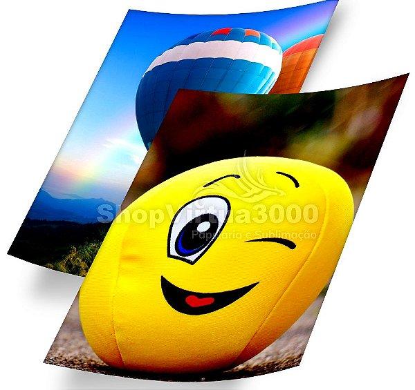 Papel Fotográfico Glossy (resistente à água apenas p/ tintas corantes) 180g/m² - A3 (SV3000) - 20 folhas