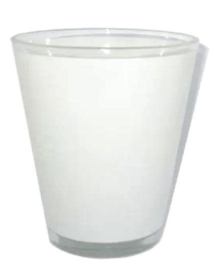 Copinho Tequila Cônico 42ml de Vidro Resinado P/Sublimação (480) - 01 Unidade