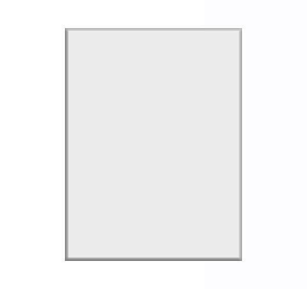 Placa Alumínio Duraluxe - Glossy - 10x15 cm (2896) - 01 Unidade