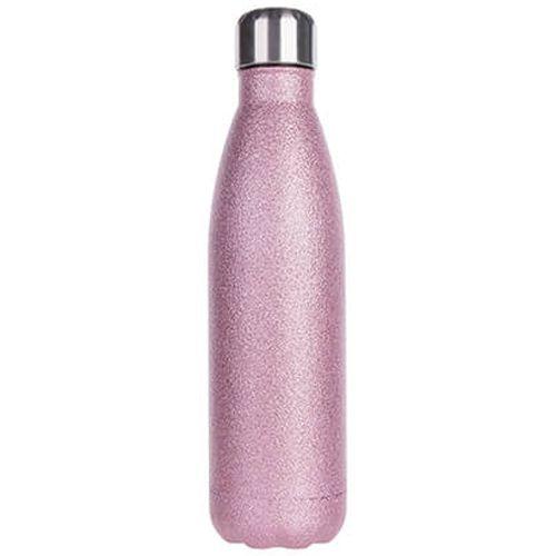 Garrafa Térmica Para Sublimação em Inox Glitter Rosa Pink 500ml (2673) - 01 Unidade (PROMO BOAS FESTAS)