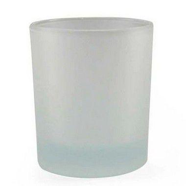Copo de Vidro Jateado Tipo Whisky 250ml Para Sublimação (481) - 48 Unidades (Caixa Master)