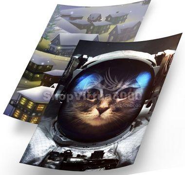Papel Fotográfico Glossy Dupla Face 180g A4 - Photo Paper (Cód 13) - 20 folhas