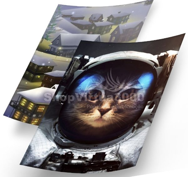 Papel Fotográfico Glossy Dupla Face 180g A4 - Photo Paper (Cód. 13) - 100 folhas