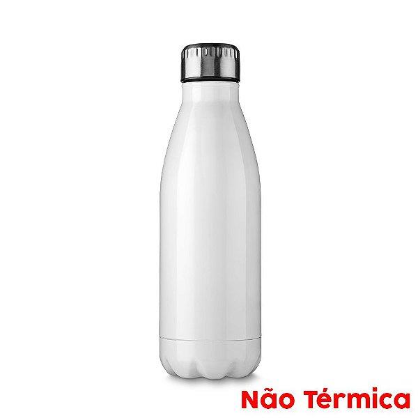 Garrafa de Alumínio Esportiva Sublimável Branca 500ml Fundo Estrela (3301) - 01 Unidade