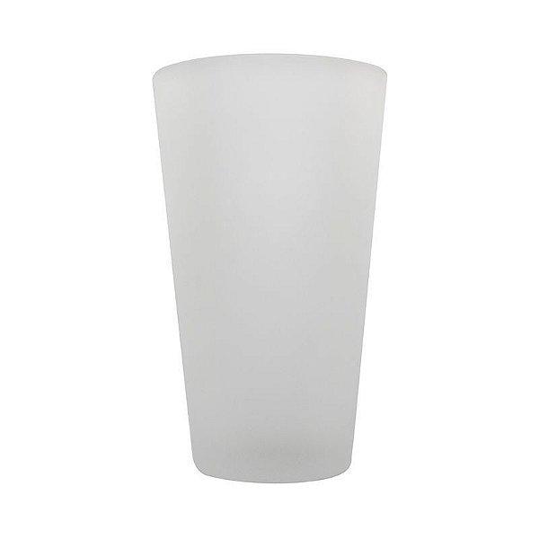 Caneca de Refrigerante 450ml Vidro Jateado Fosco Para Sublimação (484) - 01 Unidade