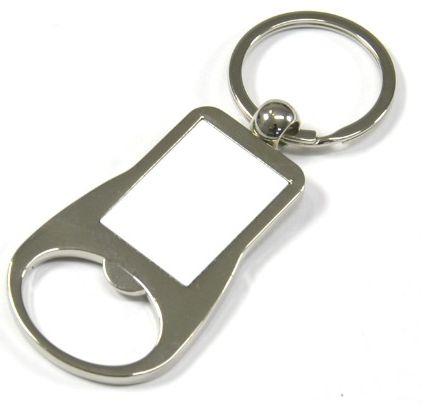Chaveiro Metal 3,3 x 2,6 cm Abridor de Garrafa Para Sublimação (2787) - 01 Unidade