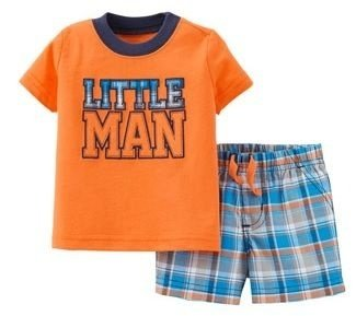 Conjunto 2 peças Little Man Child of Mine made by CARTERS