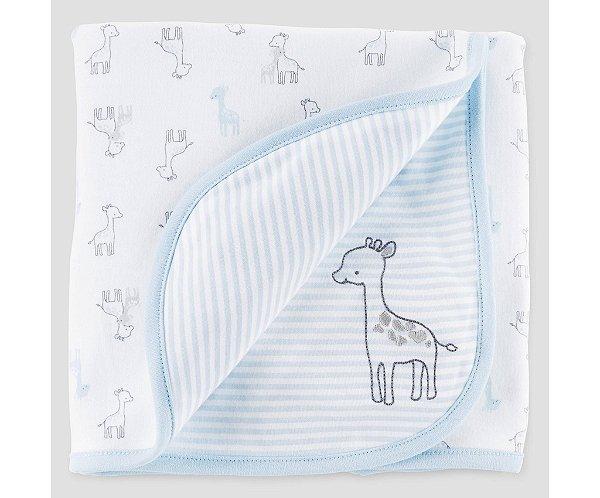 Manta em malha dupla face Girafinha Just one You made by CARTERS