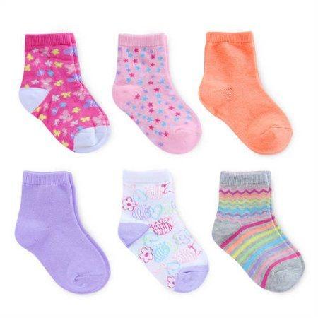 Kit 6 pares de meias 6-18 meses - GARANIMALS