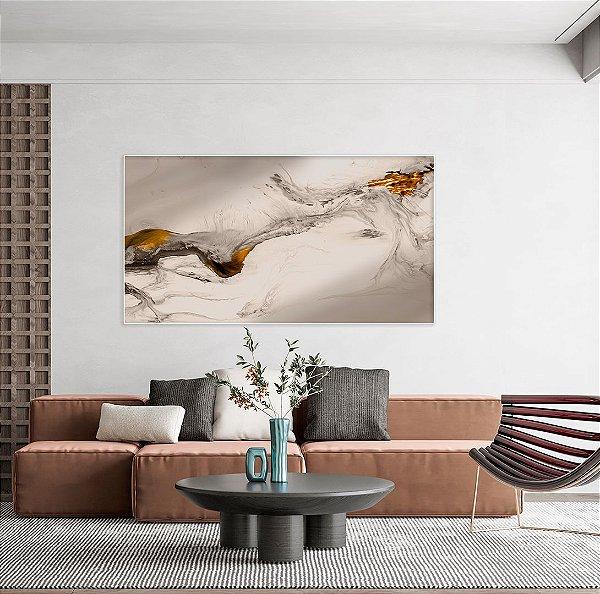 Quadro Decorativo Marmoreio - Artista Uillian Rius