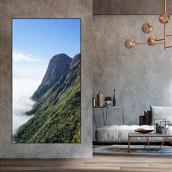 Quadro Decorativo Montanhas - Artista Bruno Lacerda