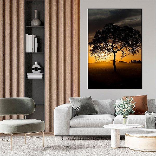 Quadro Decorativo Árvore - Artista Bruno Lacerda