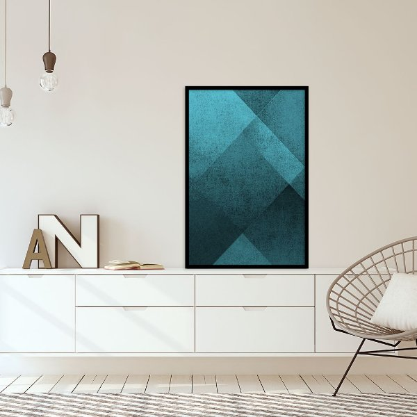 Quadro decorativo Abstrato Geométrico