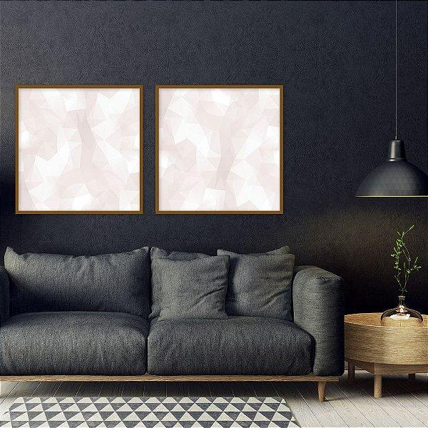 Conjunto com 02 quadros decorativos Nude